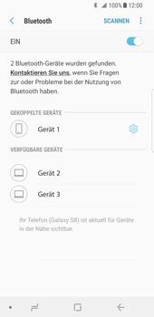 Samsung Galaxy S8 - Android Oreo - Bluetooth - Verbinden von Geräten - Schritt 9