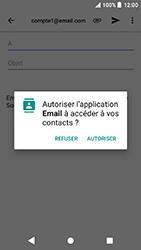 Sony Xperia X Compact - Android Oreo - E-mail - envoyer un e-mail - Étape 4