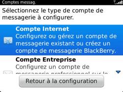 BlackBerry 9320 Curve - E-mail - Configuration manuelle - Étape 5