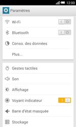 Alcatel OT-5050X Pop S3 - Internet et connexion - Partager votre connexion en Wi-Fi - Étape 4