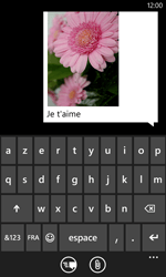Nokia Lumia 520 - Contact, Appels, SMS/MMS - Envoyer un MMS - Étape 12