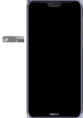 Nokia 6.1 Plus - Android Pie - SIM-Karte - Einlegen - Schritt 2