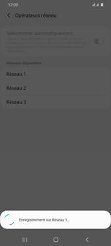 Samsung Galaxy S20 Ultra 5G - Réseau - Sélection manuelle du réseau - Étape 13