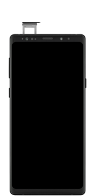 Samsung galaxy-note-9-sm-n960f-android-pie - Instellingen aanpassen - SIM-Kaart plaatsen - Stap 5