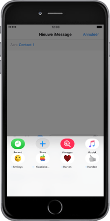 Apple Apple iPhone 7 Plus - iOS features - iMessage functies - Stap 3