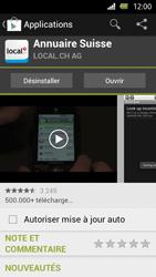 Sony Xperia U - Applications - Installation d