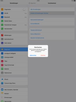 Apple iPad Pro 12.9 inch - Fehlerbehebung - Handy zurücksetzen - Schritt 7