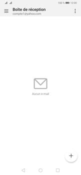 Huawei P30 - E-mail - 032b. Email wizard - Yahoo - Étape 4