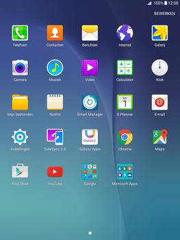 Samsung Galaxy Tab A 9.7 (SM-T555) - SMS - Handmatig instellen - Stap 3