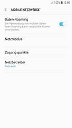 Samsung Galaxy A5 (2017) - Ausland - Im Ausland surfen – Datenroaming - 9 / 11