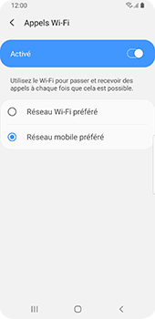 Samsung Galaxy S9 - Android Pie - WiFi - Activez WiFi Calling - Étape 10