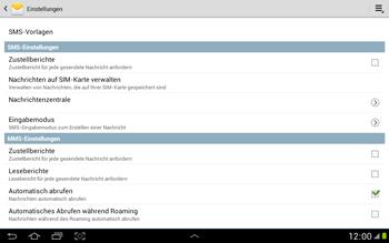 Samsung N8000 Galaxy Note 10-1 - SMS - Manuelle Konfiguration - Schritt 5