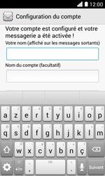 Huawei Ascend Y330 - E-mail - Configurer l