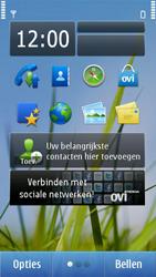 Nokia N8-00 - SMS - handmatig instellen - Stap 1