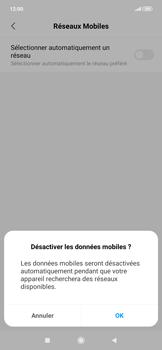 Xiaomi RedMi Note 7 - Réseau - Sélection manuelle du réseau - Étape 9
