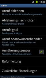 Samsung I8160 Galaxy Ace 2 - Anrufe - Rufumleitungen setzen und löschen - Schritt 5