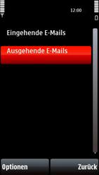 Nokia 5800 Xpress Music - E-Mail - Konto einrichten - Schritt 24