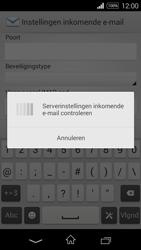 Sony D2203 Xperia E3 - E-mail - Handmatig instellen - Stap 11