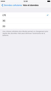 Apple iPhone 6s Plus - Réseau - Changer mode réseau - Étape 5