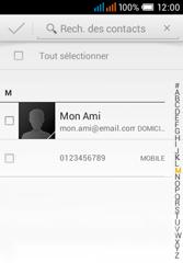 Alcatel OT-4015X Pop C1 - Contact, Appels, SMS/MMS - Envoyer un SMS - Étape 6