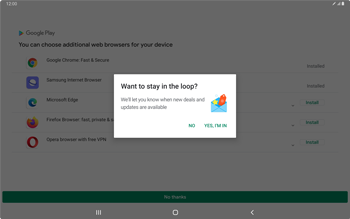 Samsung Galaxy Tab S7 - Applications - How to check for app-updates - Step 4