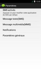 Acer Liquid Z410 - SMS - Configuration manuelle - Étape 6