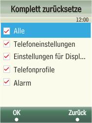 Samsung F480-TouchWiz - Fehlerbehebung - Handy zurücksetzen - Schritt 8