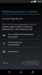 HTC One Mini 2 - apps - account instellen - stap 20