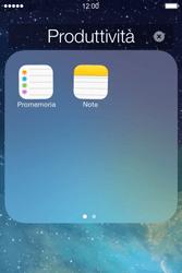 Apple iPhone 4S iOS 7 - Operazioni iniziali - Personalizzazione della schermata iniziale - Fase 5