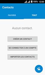 Alcatel U3 - Contact, Appels, SMS/MMS - Ajouter un contact - Étape 4