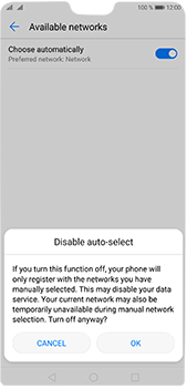 Huawei P20 Pro - Network - Manual network selection - Step 7