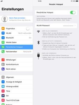 Apple iPad Pro 9.7 inch - Internet - Mobilen WLAN-Hotspot einrichten - 9 / 9