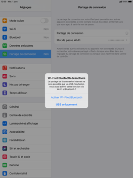 Apple iPad 10.2 - Internet - comment configurer un point d'accès mobile - Étape 7