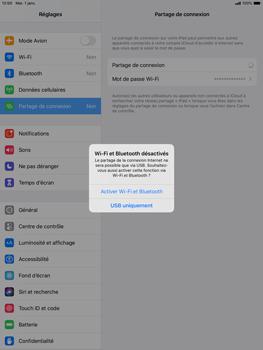 Apple iPad Air (2019) - iPadOS 13 - WiFi - Comment activer un point d'accès WiFi - Étape 7