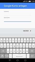 Huawei Nova - Apps - Konto anlegen und einrichten - Schritt 5