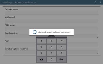 Samsung T535 Galaxy Tab 4 10-1 - E-mail - Account instellen (POP3 met SMTP-verificatie) - Stap 11