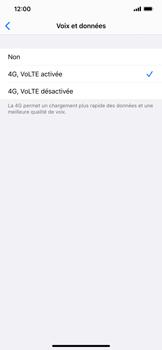 Apple iPhone XS Max - iOS 13 - Réseau - Comment activer une connexion au réseau 4G - Étape 7