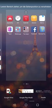 Huawei P20 - Startanleitung - Installieren von Widgets und Apps auf der Startseite - Schritt 7