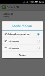 Huawei Y3 - Réseau - Changer mode réseau - Étape 7