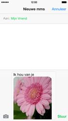 Apple iPhone 5 iOS 8 - MMS - afbeeldingen verzenden - Stap 12