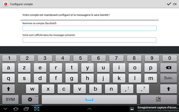 Samsung N8000 Galaxy Note 10-1 - E-mail - Configuration manuelle - Étape 16