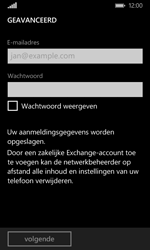 Microsoft Lumia 532 - E-mail - Account instellen (POP3 met SMTP-verificatie) - Stap 7