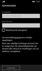 Microsoft Lumia 532 - e-mail - handmatig instellen - stap 7