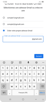 Samsung Galaxy A31 - Applications - Créer un compte - Étape 12