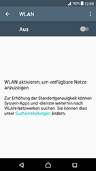Sony Xperia X Compact - WiFi - WiFi-Konfiguration - Schritt 5