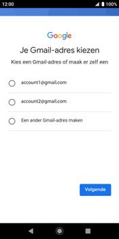Sony xperia-xz2-h8216-android-pie - Applicaties - Account aanmaken - Stap 11