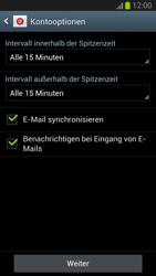 Samsung Galaxy S III - OS 4-1 JB - E-Mail - Konto einrichten - 15 / 19