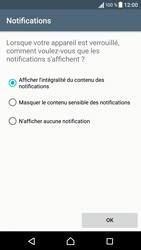 Sony Xperia X - Sécuriser votre mobile - Activer le code de verrouillage - Étape 12
