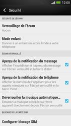 HTC One - Sécuriser votre mobile - Activer le code de verrouillage - Étape 5