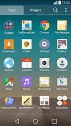 LG Spirit 4G - E-mail - manual configuration - Step 3